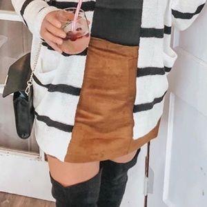 Old Navy cognac skirt